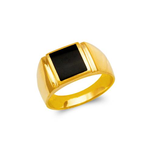 576-321 Men's Full Cut Onyx Ring