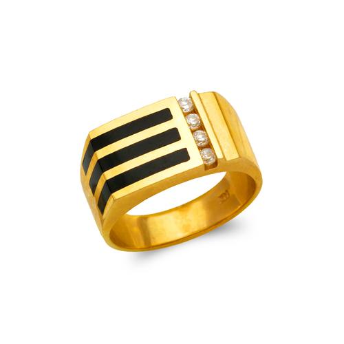 576-324 Men's Full Cut Onyx Ring