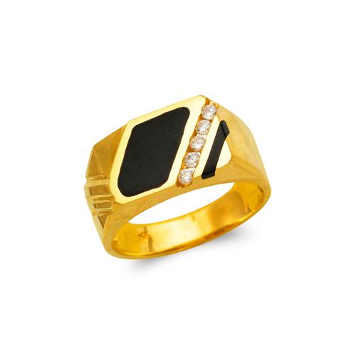 576-325 Men's Full Cut Onyx Ring