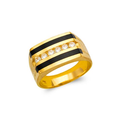 576-326 Men's Full Cut Onyx Ring