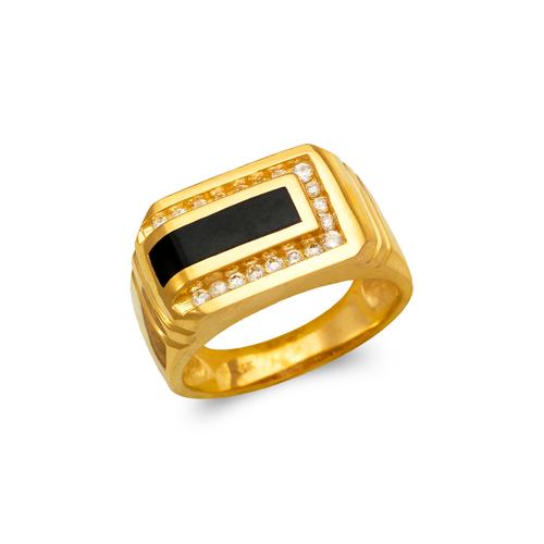 576-327 Men's Full Cut Onyx Ring