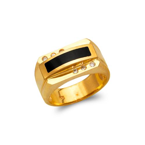 576-334 Men's Full Cut Onyx Ring