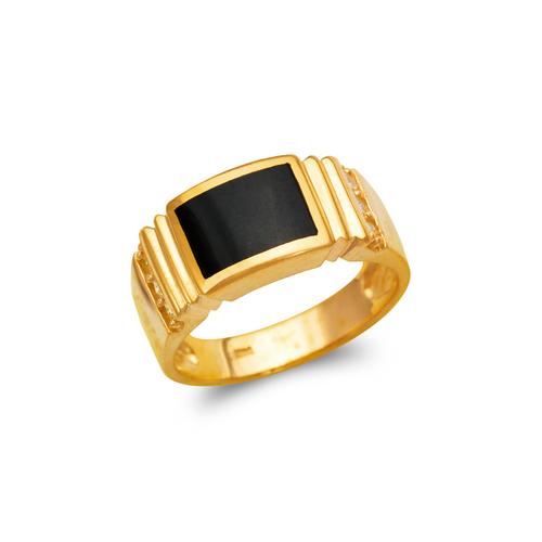 576-335 Men's Full Cut Onyx Ring