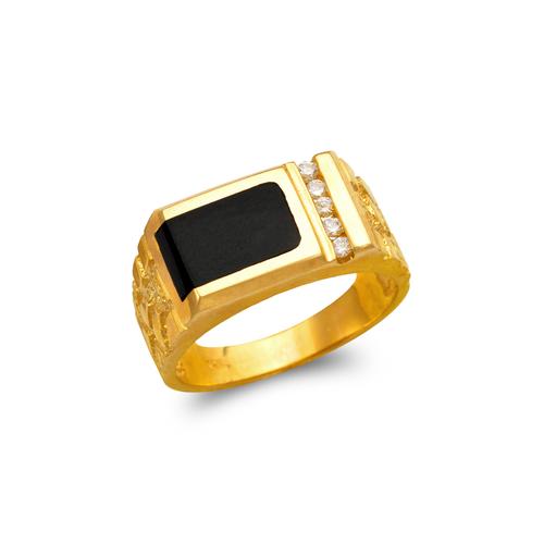 576-337 Men's Full Cut Onyx Ring