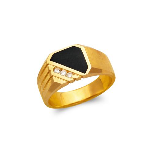 576-341 Men's Full Cut Onyx Ring