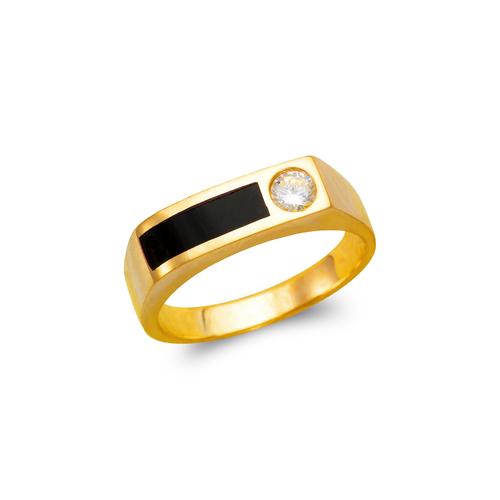 576-344 Men's Full Cut Onyx Ring