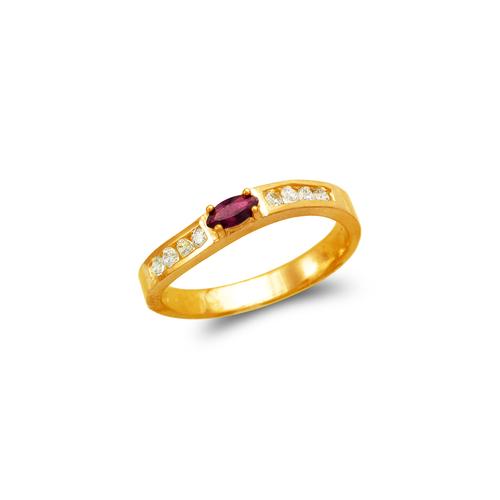 671-002 Ladies CZ Ring