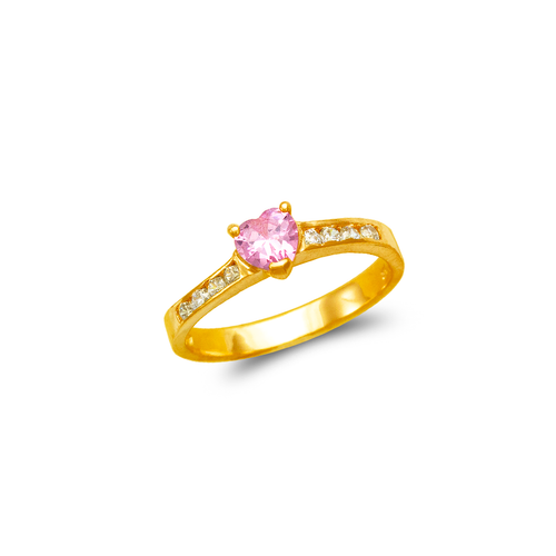 671-003 Ladies CZ Ring