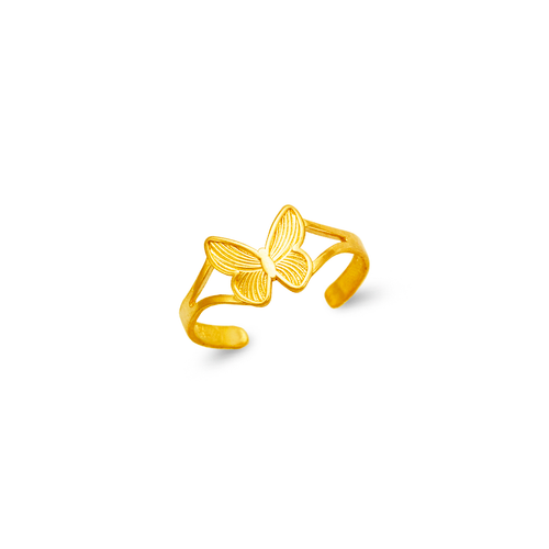672-001 Butterfly Knuckle/Toe Ring