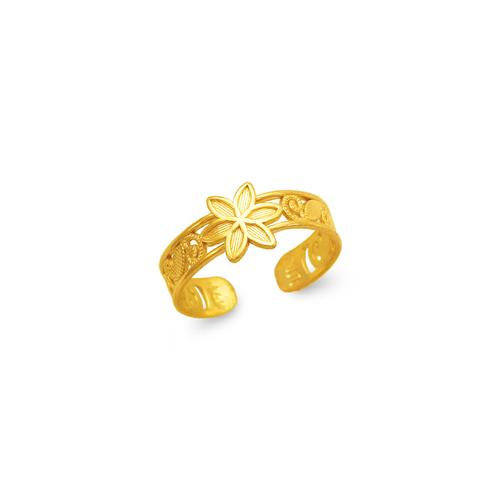 672-002 Flower Knuckle/Toe Ring