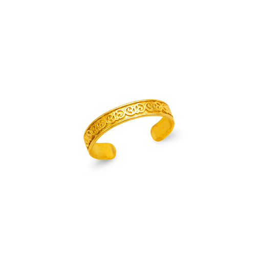 672-006 Squiggly Knuckle/Toe Ring