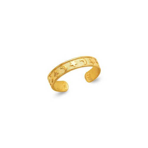 672-009 Moon and Star Knuckle/Toe Ring