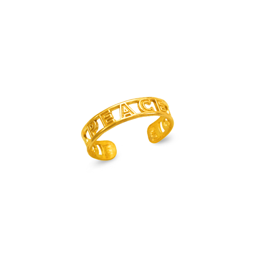 672-012 Peace Knuckle/Toe Ring