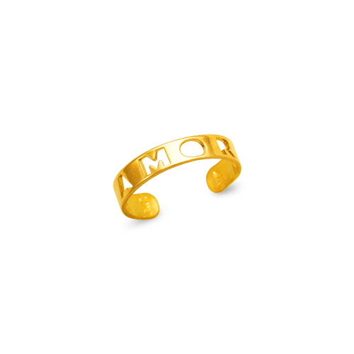 672-013 Amor Cut Out Knuckle/Toe Ring