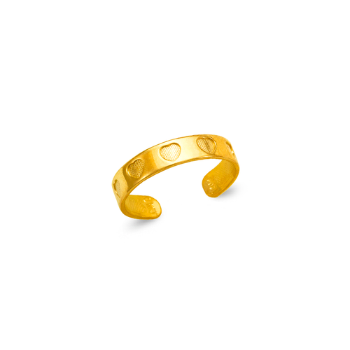 672-015 Heart Knuckle/Toe Ring