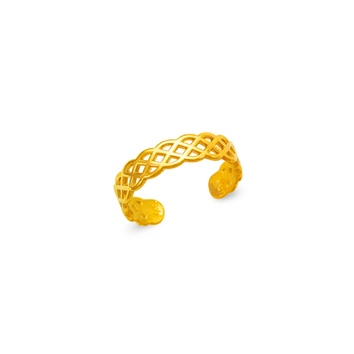 672-016 Weaved Knuckle/Toe Ring