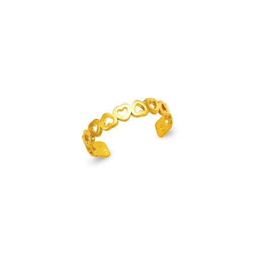 672-019 Heart Knuckle/Toe Ring
