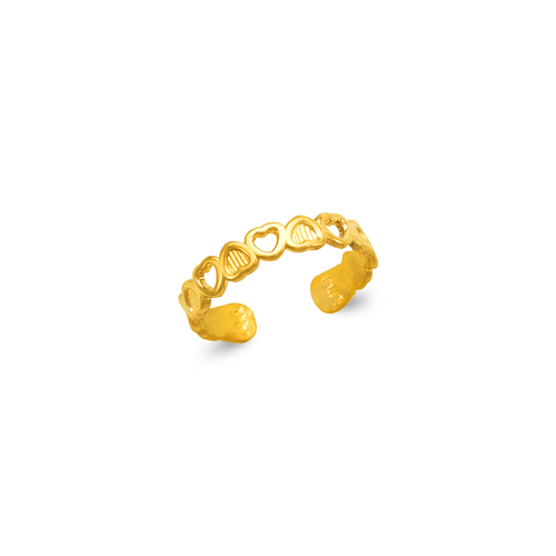 672-020 Heart Knuckle/Toe Ring