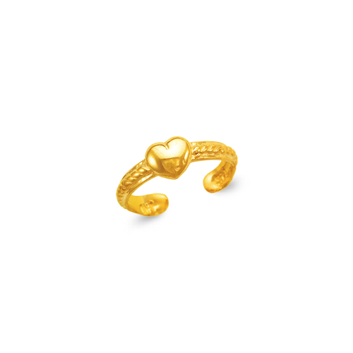 672-022 Heart Knuckle/Toe Ring