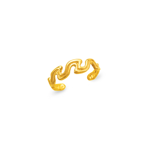 672-028 Curvy Knuckle/Toe Ring
