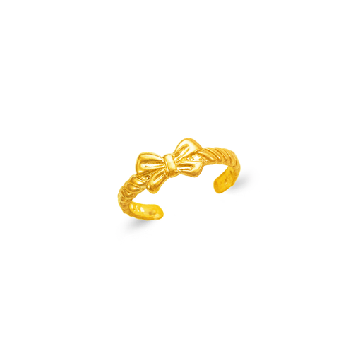 672-030 Bow Tie Knuckle/Toe Ring