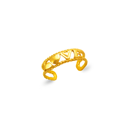 672-032 Love Knuckle/Toe Ring