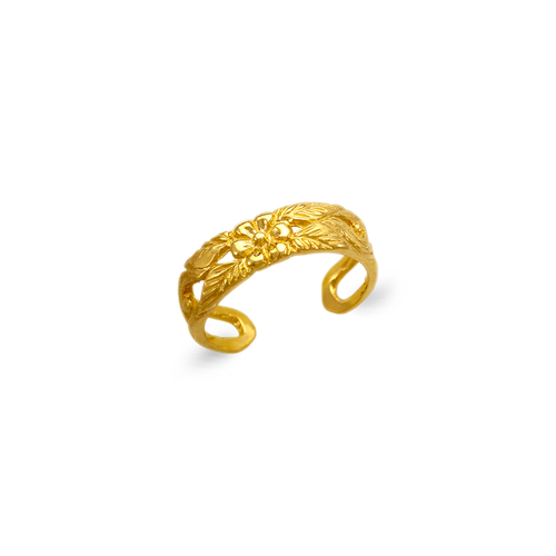672-035 Flower Knuckle/Toe Ring
