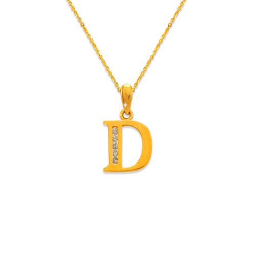 """583-101D Initial """"D"""" Pendant"""