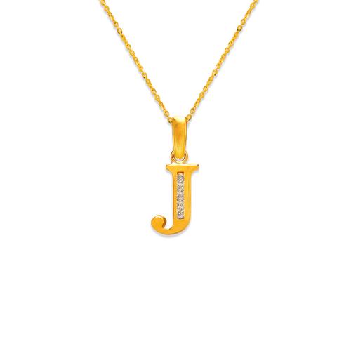 "583-101J Initial ""J"" Pendant"