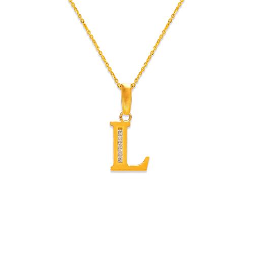 "583-101L Initial ""L"" Pendant"