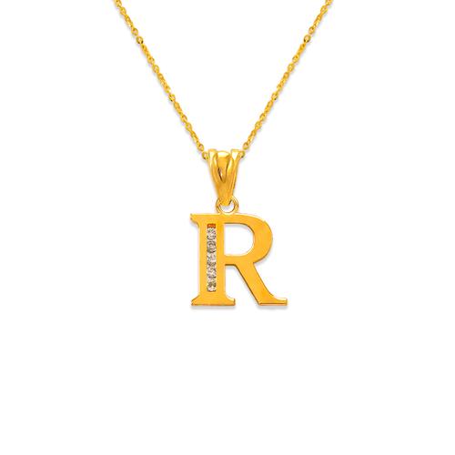 """583-101R Initial """"R"""" Pendant"""