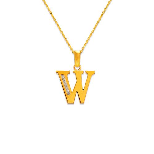 "583-101 Initial ""W"" Pendant"