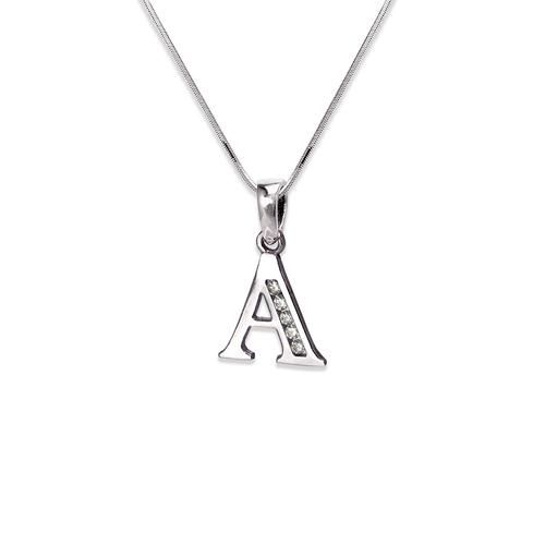 "583-101WA Initial ""A"" Pendant"
