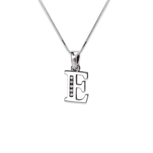 "583-101WE Initial ""E"" Pendant"