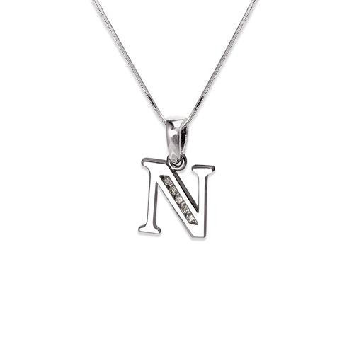 """583-101WN Initial """"N"""" Pendant"""