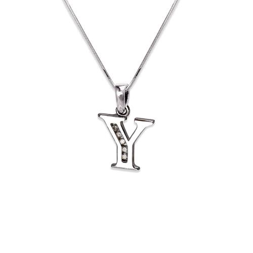 "583-101WY Initial ""Y"" Pendant"