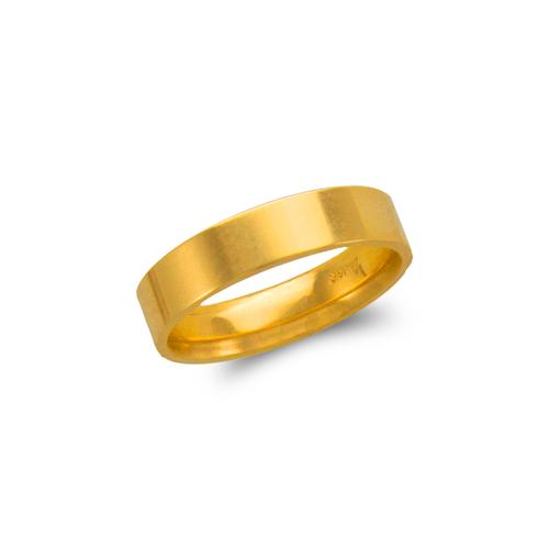 579-034 5mm Plain Flat Wedding Band