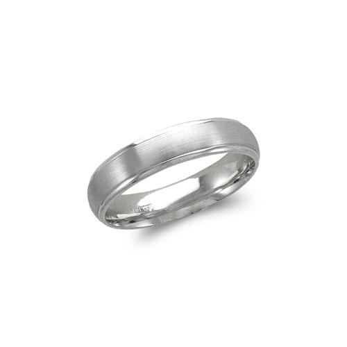 579-208W 5mm Design White Wedding Band