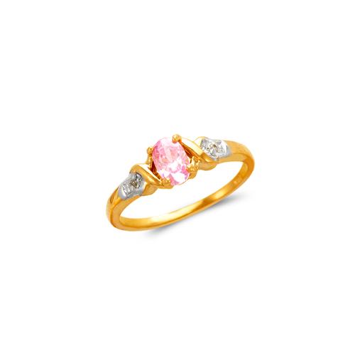673-001 Ladies CZ Ring