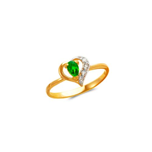 673-007 Ladies Heart CZ Ring