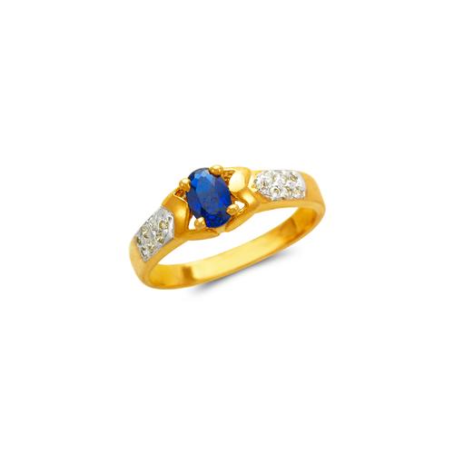 673-012 Ladies CZ Ring