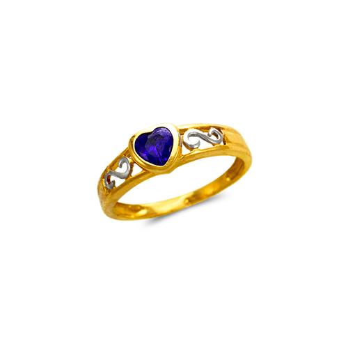 673-014 Ladies Heart CZ Ring
