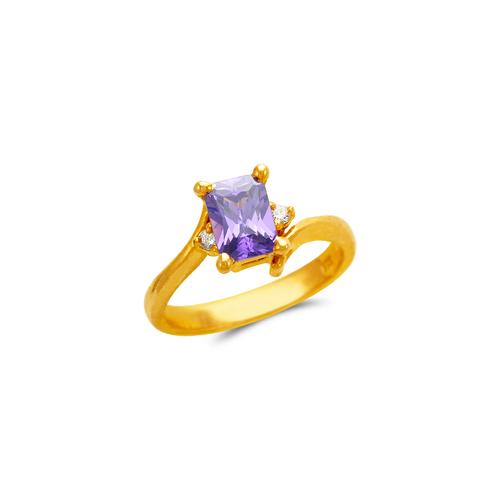 673-017 Ladies CZ Ring