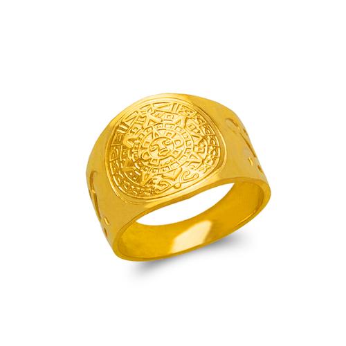 577-101 Men's Aztec Ring
