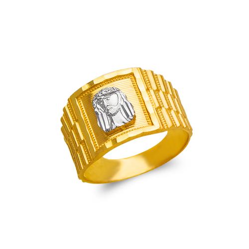 577-103 Men's Jesus Ring