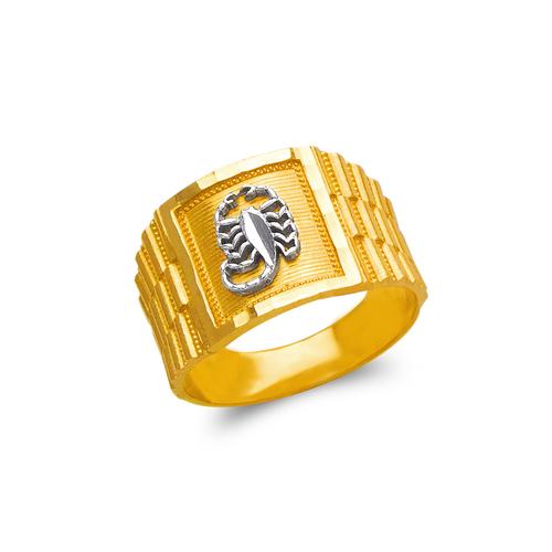 577-108 Men's Scorpion Ring