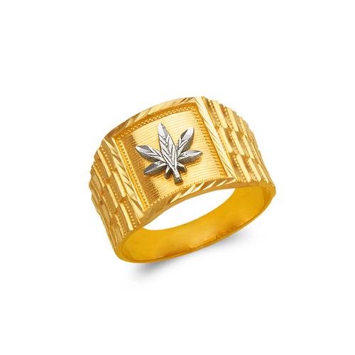 577-109 Men's Marijuana Ring