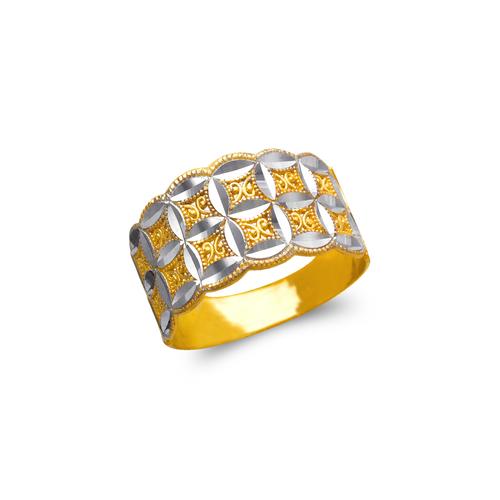577-120 Ladies Decorative Filigree Ring