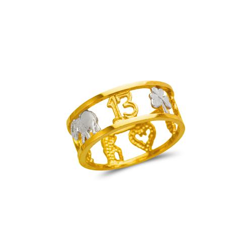 577-205 Ladies Goodluck Filigree Ring