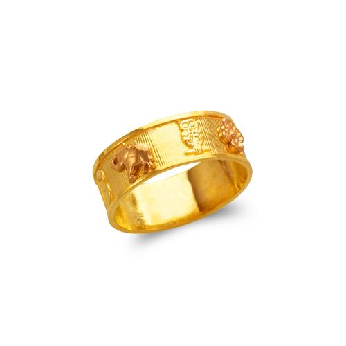 577-206 Ladies Goodluck Filigree Ring